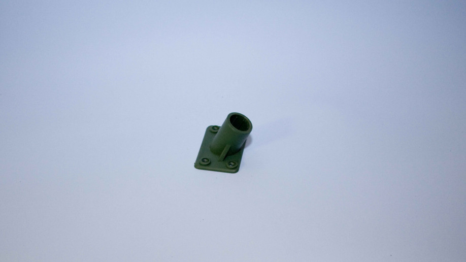 BROOM SOCKET PLASTIC 4 HOLE 15/16 EA.                                 AVAILABLE INDIVIDUALLY OR BOXED